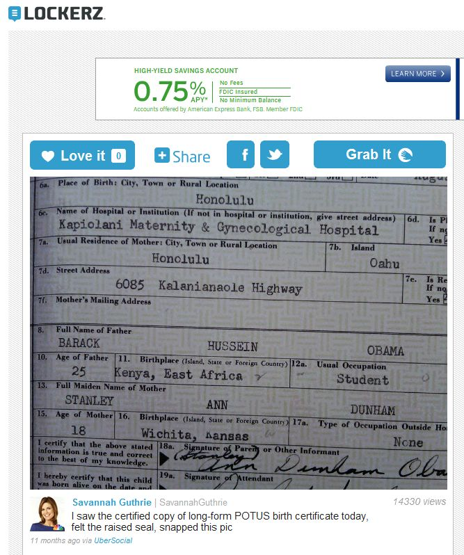 Do It Yourself Proof Of The Obama Birth Certificate Fraud