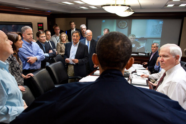 The Illusion of Obama\'s Bin Laden Raid Situation Room Leadership