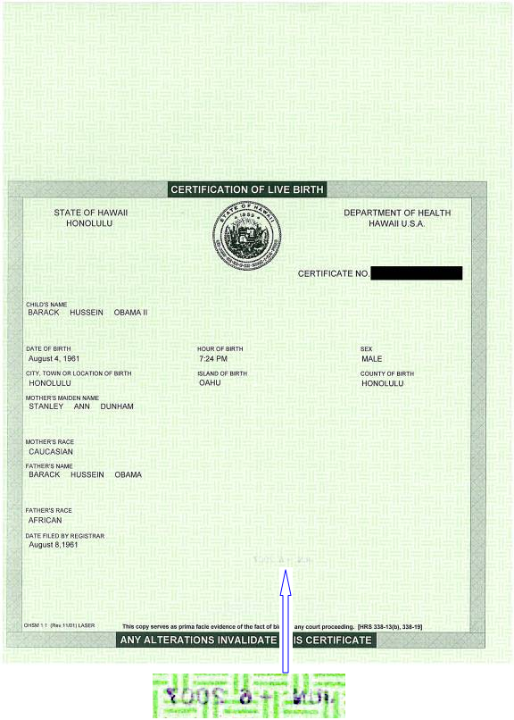 Obama Revealed More Than His Birth Certificate Last Year