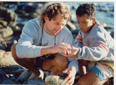 Larrey and son