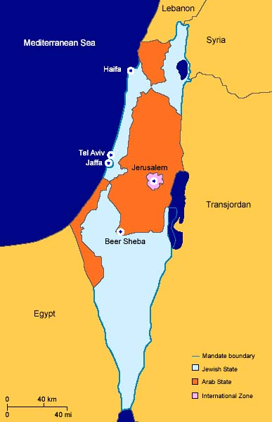 1947–48 Civil War in Mandatory Palestine