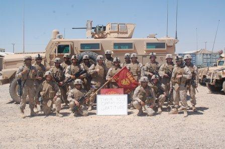 Marines thank Operation Gratitude