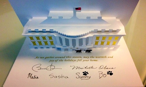 Blog: A bleak White House Christmas card this year