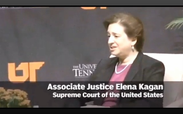 Justice Kagan: Not Sure 'I Would've Been President Obama's Nominee if I Weren't a Woman'