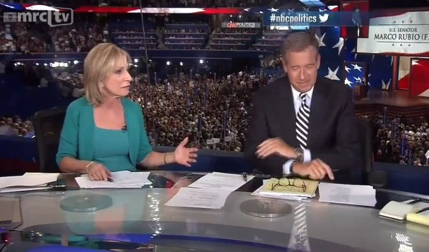 NBC Skipped Marco Rubio Speech for Andrea Mitchell blabbering and commercials