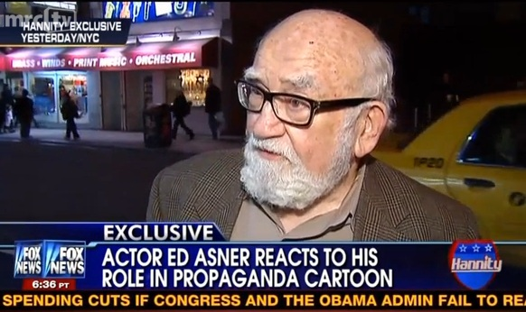 Ed Asner to Fox News Producer: 'Can I Piss On You?'