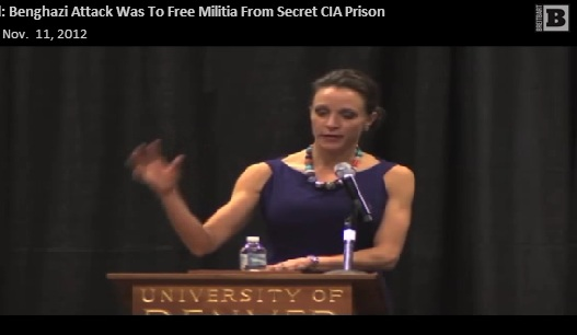 Secret CIA Prison Targeted in Benghazi Attack According to Petraeus Mistress