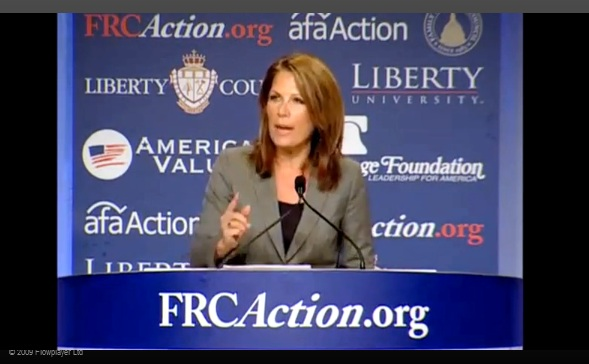 Bachmann to Obama: Cancel Letterman and Jay-Z, Meet with Netanyahu