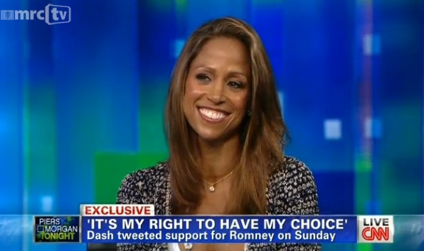 Stacey Dash on Romney: 'I Chose Him Not By the Color of His Skin But the Content of His Character'