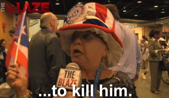 DNC Delegate Threatens to Kill Romney
