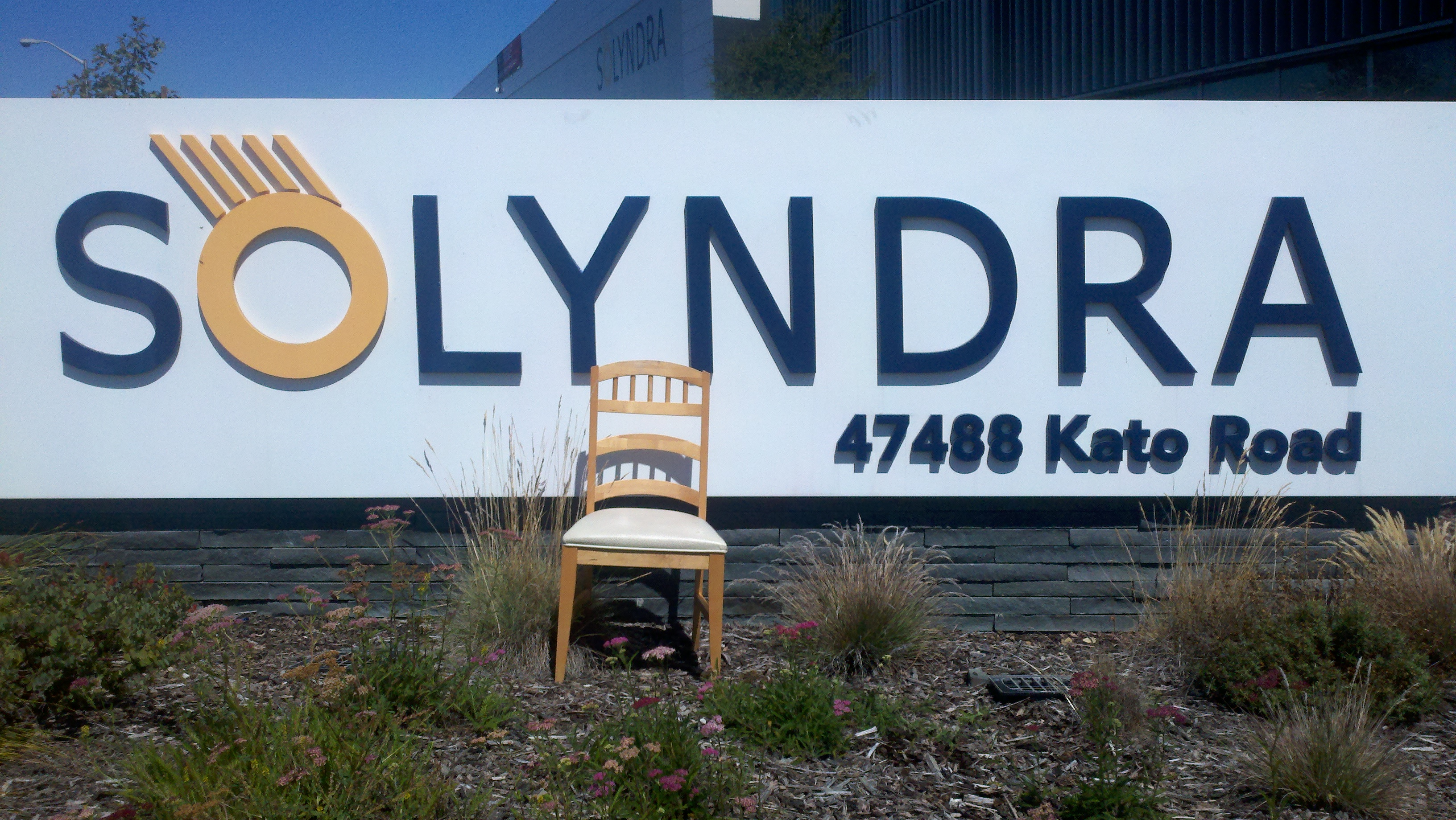 Empty Chair Visits Solyndra