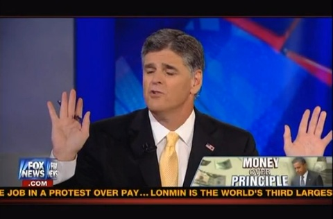 Hannity shouts down Dem guest over Voter ID racism claims
