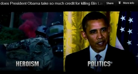Getting Bin Laden: Heroism vs. Politics