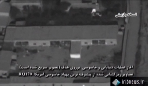 Iran Shows Off Video from Captured CIA Drone