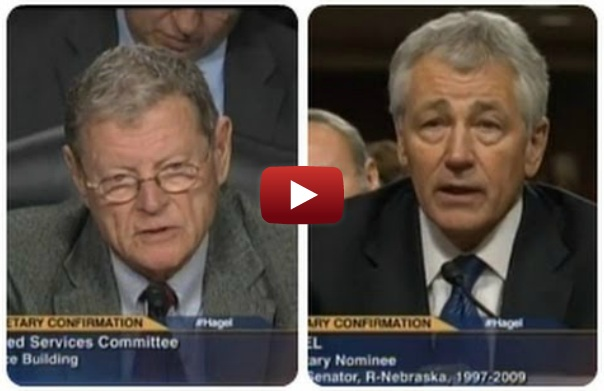 Iran's Man: Hagel Confronted Over Endorsement