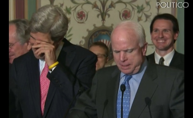 Funny Losers? McCain Calls Kerry 'Mr. Secretary' and Kerry Jabs Back at 'Mr. President'