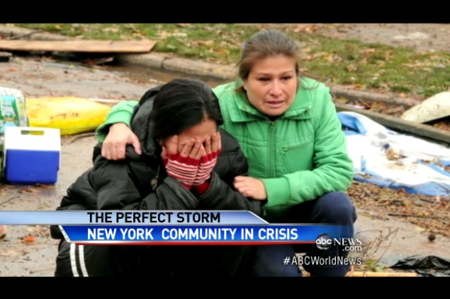 'We Need Food, We Need Clothing' - Staten Island Residents Plead for Help Days After Sandy Destruction