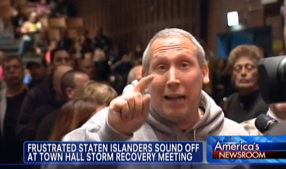 Angry New Yorkers Lash Out at Obama and FEMA for Not Helping Sandy Victims
