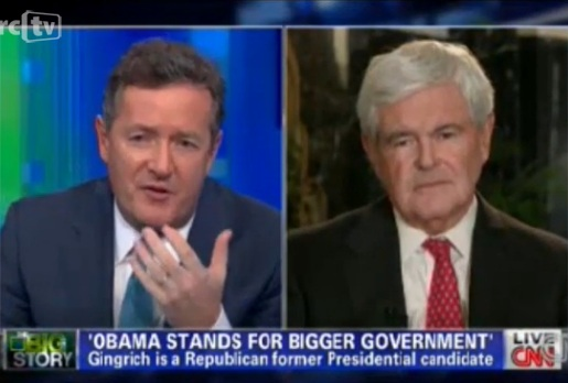 Newt Gingrich confronts Liberal Media Mantras