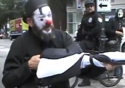 Occupy Protest Clown