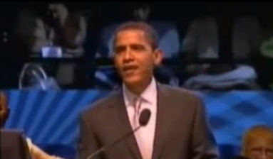 Shocking: Obama Off-Script: Claims Government Racism and Praises Rev. Wright