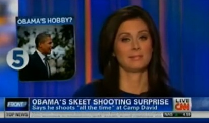 Skeeters? CNN Insinuates Obama is Lying About His Skeet Shooting Hobby