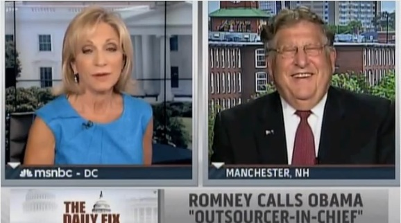 Sununu laughs in Andrea Mitchell's face