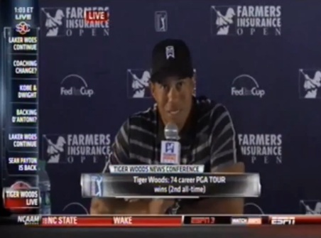Tiger Woods Admits He Left California Because Of High Taxes