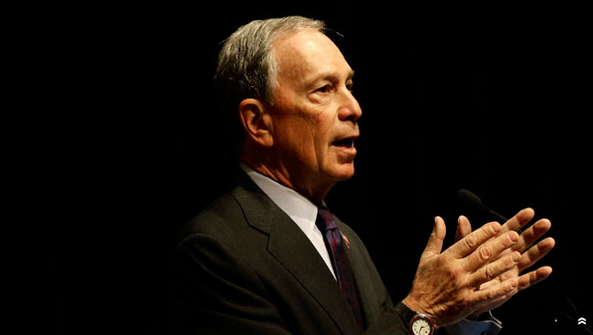 Bloomberg Donates $2.5 Million to Senate Democrats