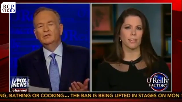 Fireworks: Bill O'Reilly vs. Mary Katharine Ham On Pot Legalization