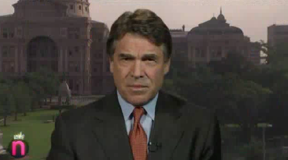 Perry Defends States' Right To Legalize Marijuana